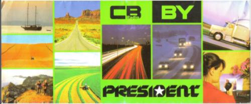 President radio cb