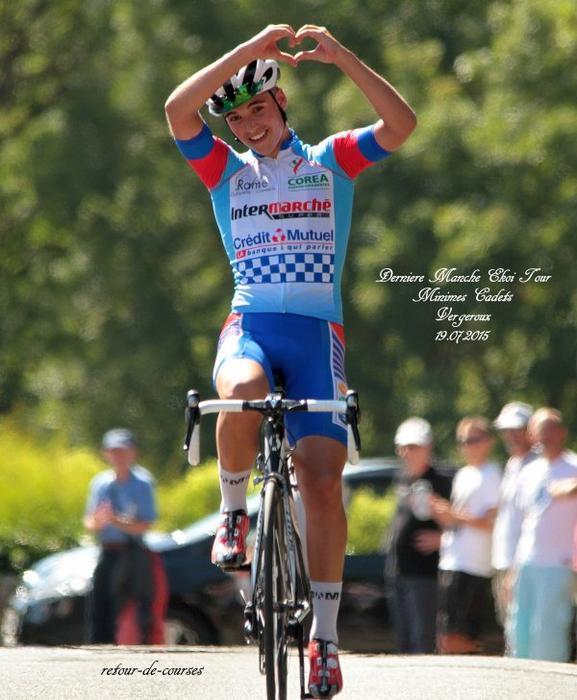 Derniere Manche Ekoi Tour (Minimes-Cadets) au Vergeroux 19.07.2015
