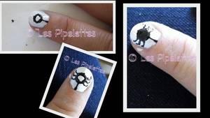 nail art d'halloween