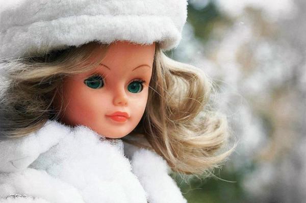 Marilou sous la neige....