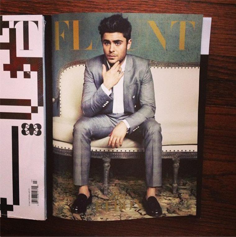 Zac pour Flaunt Magazine