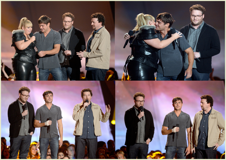 Zac aux MTV Movies Awards 2013