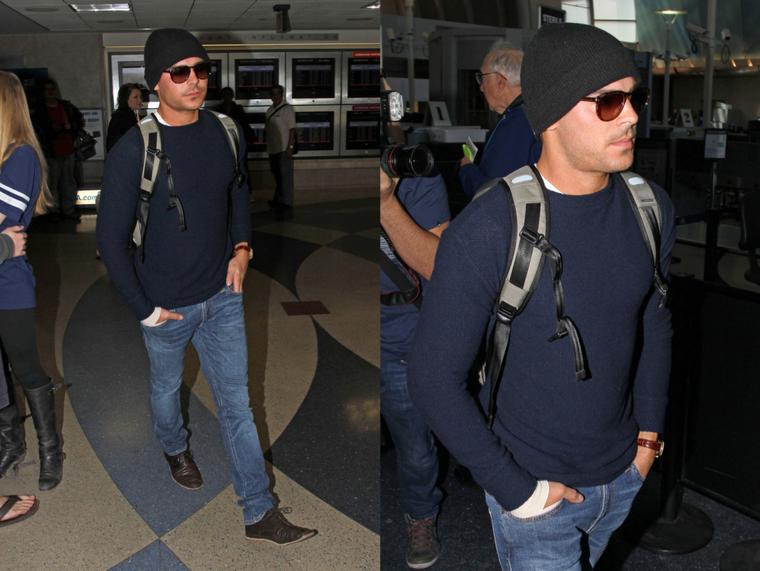 Zac is back in LA !