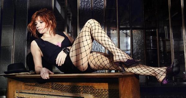 Ah! les jambes de Mylène magnifiques
