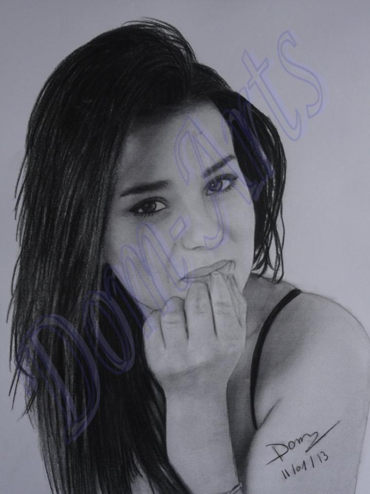 Portrait de la belle Sonia Lacen  pour le  concours de  SoniaLacenWebbook.