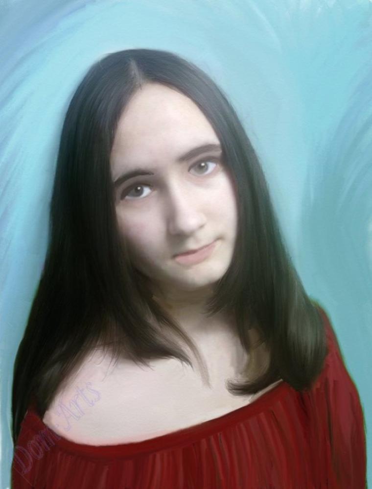 Le portrait de la romantique Ernel !!!!!!