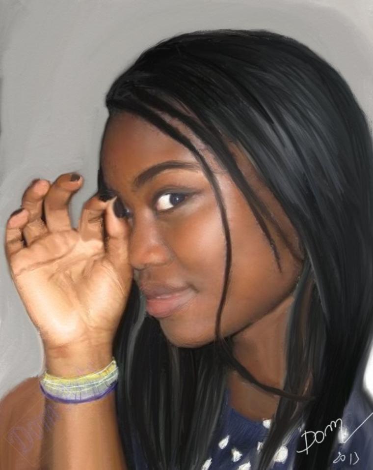 Arielle une sublime black   !!!!