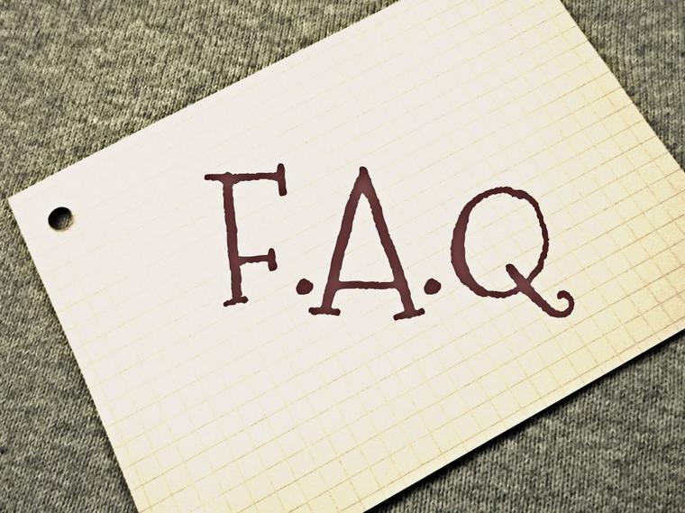 Voici ma FAQ !!!