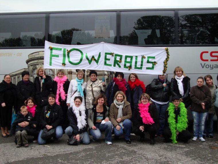 Flowerbus 31 janvier Adam et Eve