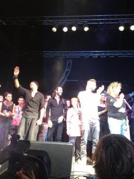 Foot concert à Lyon ce samedi ...photos, vidéo !