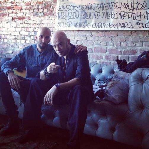 """Pascal Obispo à Los Angeles pour son clip """"Tu m'avais dit"""""""