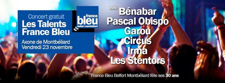 LIVE : Pascal Obispo en direct sur FRANCE BLEU