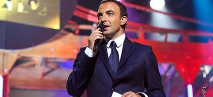 """Pascal Obispo à """"La Chanson de l'année 2012"""" avec Nikos Aliagas au Palais des Sports"""
