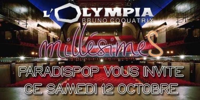 @Paradispop vous invite à l'Olympia Paris pour voir @ObispoPascal