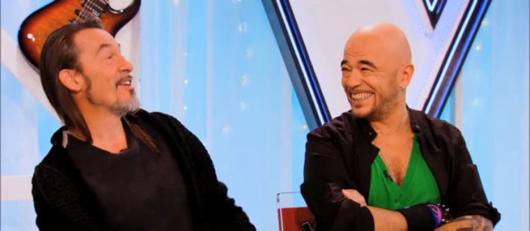 REPLAY PHOTOS @ObispoPascal assistant de @FlorentPagny dans @TheVoice_TF1