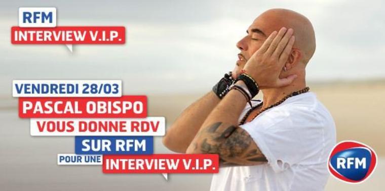 PODCAST Ecoutez Interview VIP @ObispoPascal sur @RFMfrance