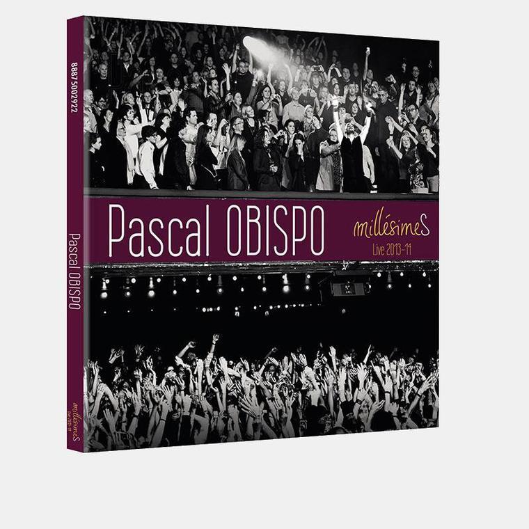 Réservez votre DVD CD LIVE #MillésimeS @ObispoPascal 2013 - 2014