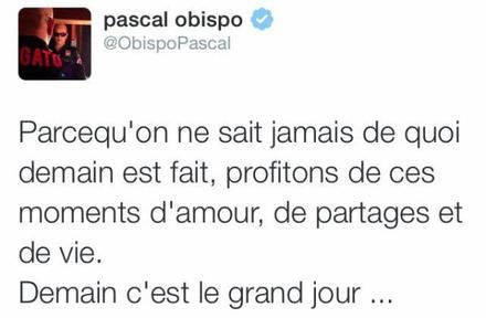 Jour J @ObispoPascal lance le show #LeGrandAmourTour au Zénith d' #Amiens