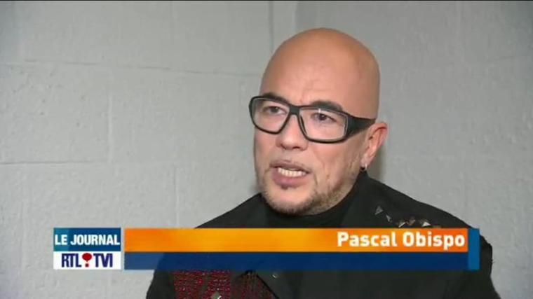 Retrouvez l'interview en vidéo d' @ObispoPascal sur RTL TVI en direct du forest national - Captation du DVD #LeGrandAmourTour