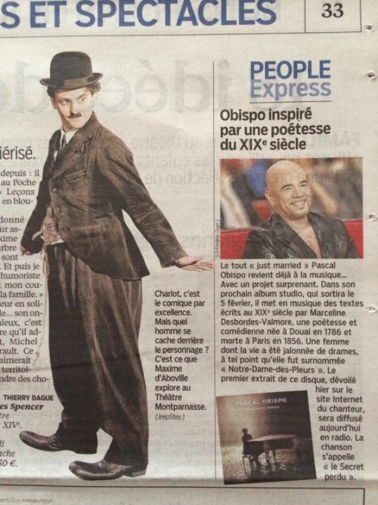 #LeSecretPerdu @ObispoPascal on en parle dans @Le_Parisien Aujourd'hui en France
