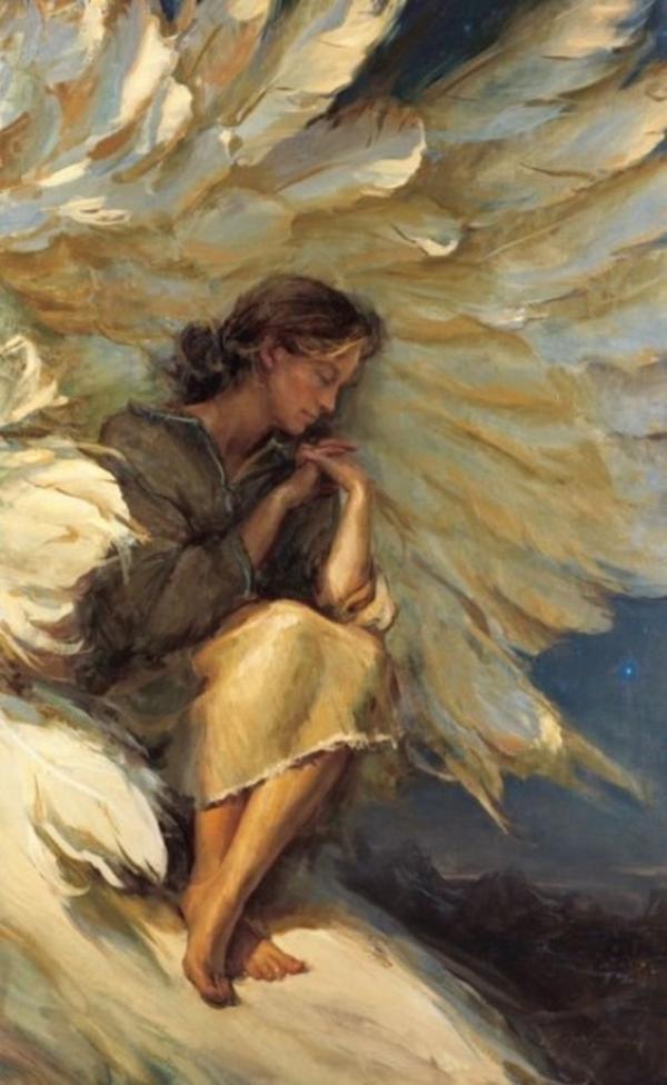 L'amour des anges inonde notre coeur mais nous ne nous en rendons pas toujours compte.