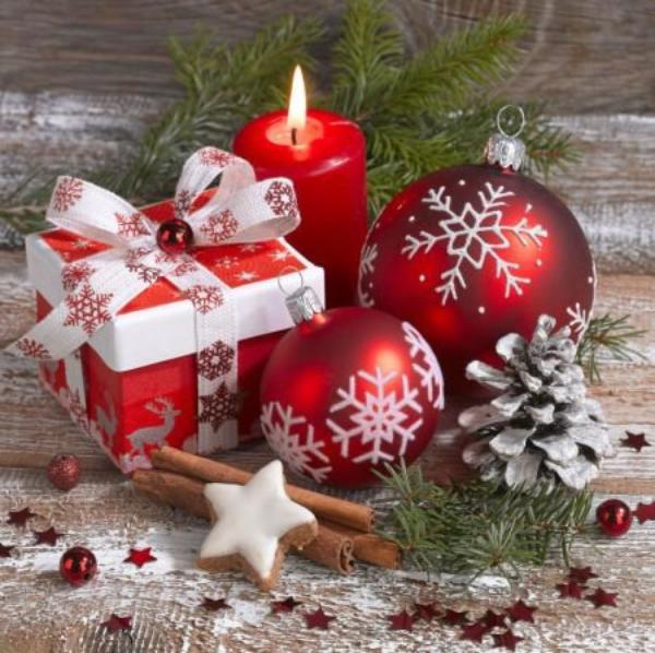 Petite lumière de Noël.