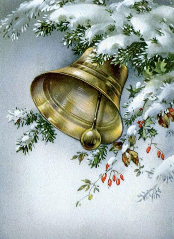 Toutes les cloches de l'An Nouveau carillonnent et chantent dans le monde apportant avec elles la joie de l'espérance à ceux qui en ont tellement besoin.