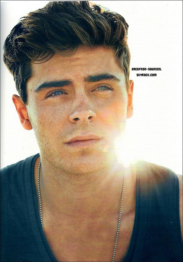 26.03.2012 : Zac fait la couverture du mois d'Avril 2012 de Vanity Fair Italia. Zac est vraiment magnifique sur les scan du magazine je donne un TOP et Vous ?