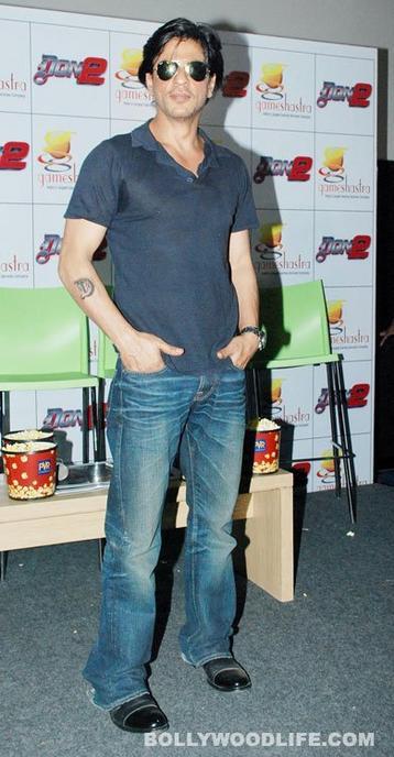 "Shahrukh Khan, Priyanka Chopra, Farhan Akhtar au lancemennt de jeux de société ""Don 2"" à Mumbai"
