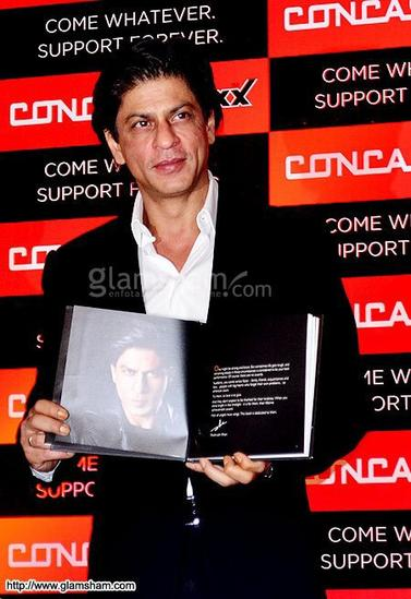 Shah Rukh Khan at Concast TMT Bars Launch, Kolkata, Feb 1st.