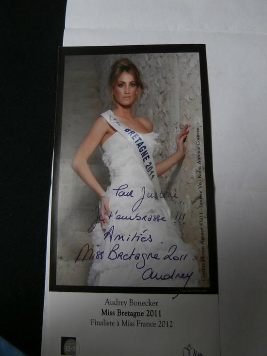 Audrey Bonecker - Miss Bretagne 2011