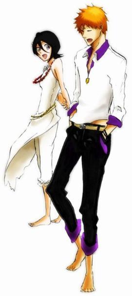 Ichigo Kurosaki & Rukia Kuchiki