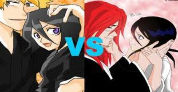 Ichigo/Rukia  ou  Renji/Rukia