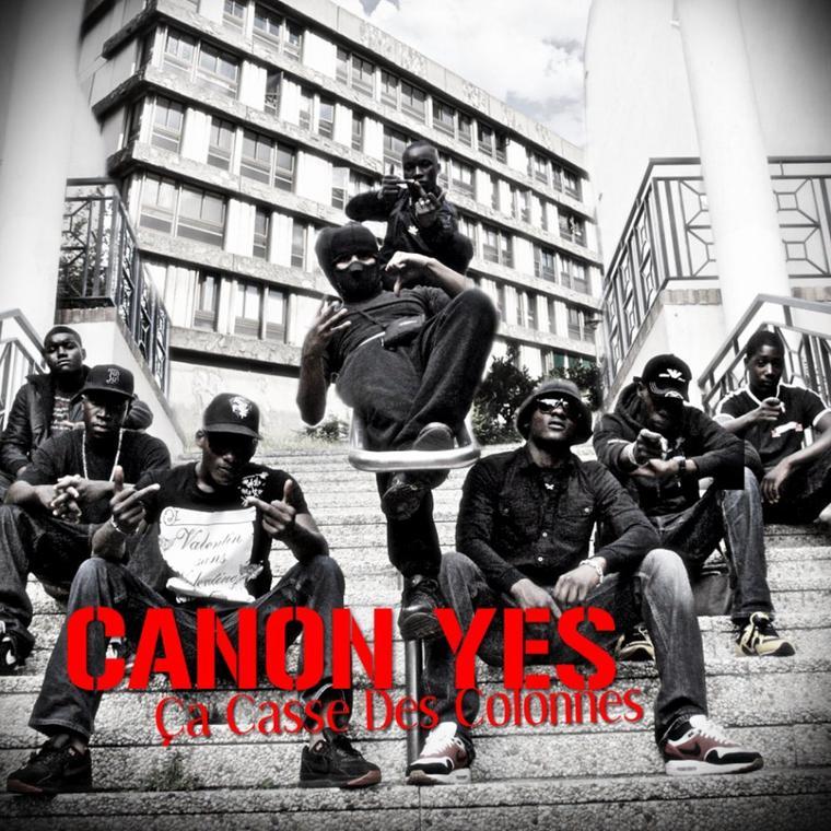 """CANON YES """"ça casse des colonnes"""" Street CD"""