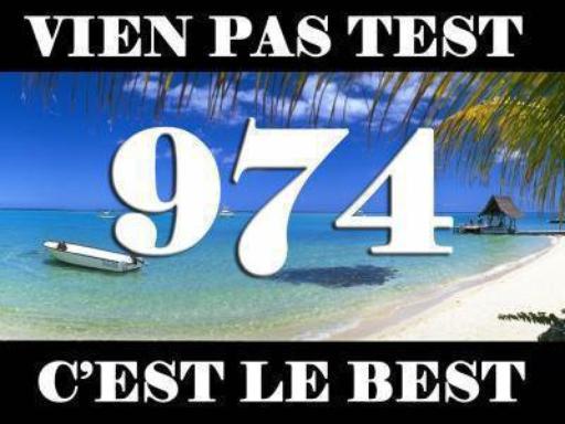 974 LA REUNION FIERE D'ETRE 974
