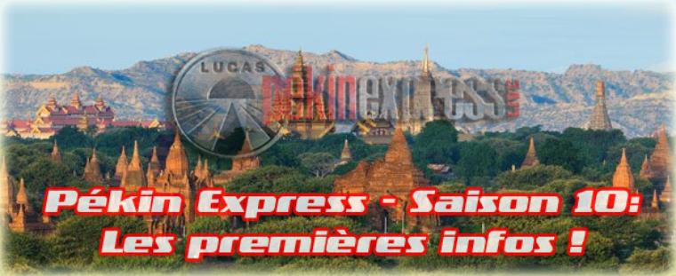NEWS - Pékin Express Saison 10: Les premières infos !