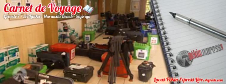 DEBRIEF - Carnet de Voyage: Épisode 7 - Sri Lanka : Marawila Beach - Sigirîya
