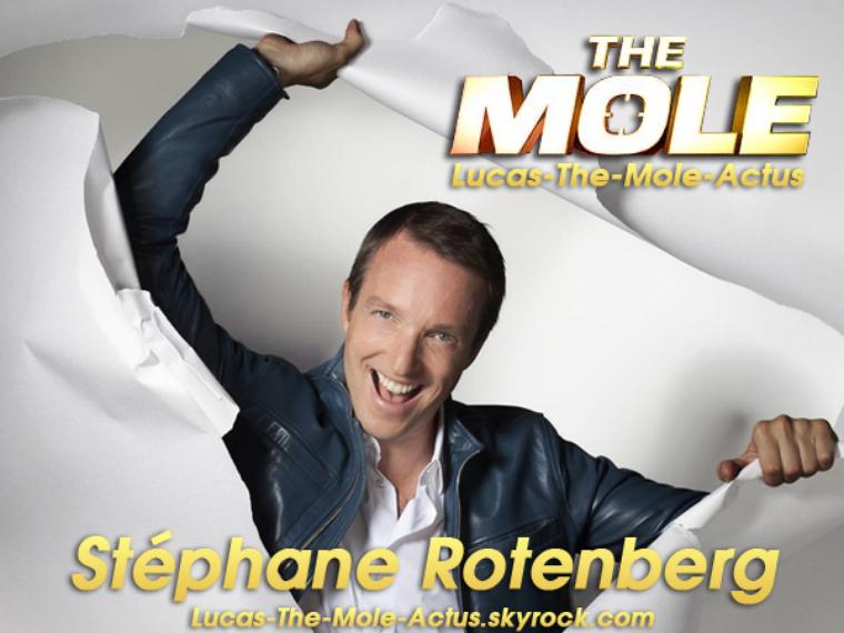#NEWS: Stéphane Rotenberg, présentateur de The Mole !