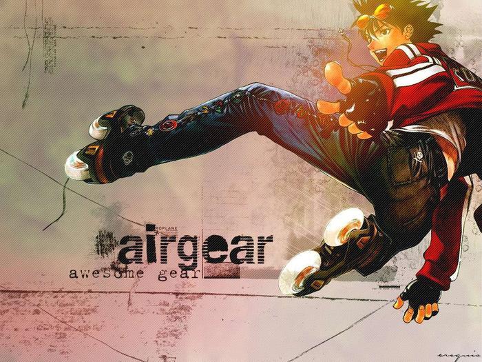 Air Gear. ❤