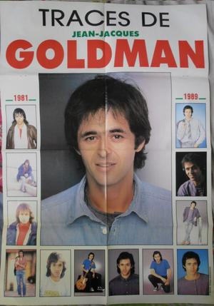 POSTER: Traces Jean-Jacques Goldman 1981-1989