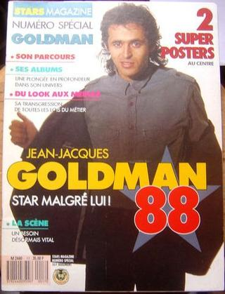 Star Magazine - Spécial Jean-Jacques Goldman (1988)