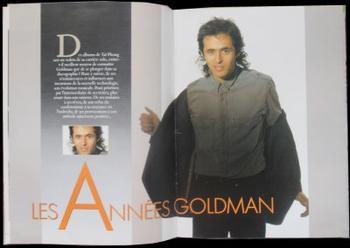 Star Mag: Pages 12 & 13 + Pages 14 & 17 = Les Années Goldman