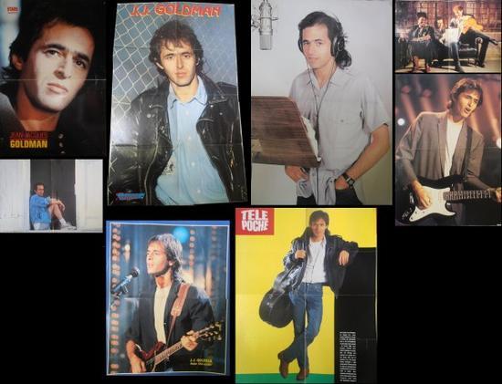 Posters de divers magazines des années 80 & 90