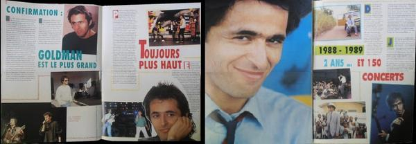 Pages d'un magazine de 1989-1990