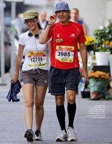Le 27 octobre dernier, JJG et sa femme ont participé aux 20km Marseille-Cassis