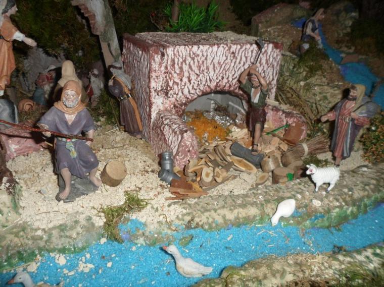 Crèche de Noël 2013