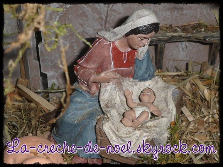Crèche de Noël - Fredomania