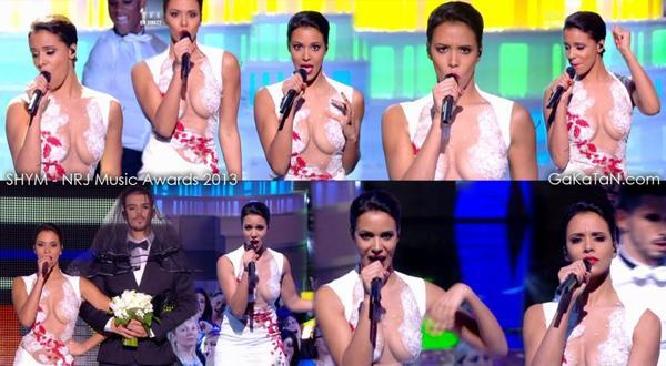 Shy'm au NRJ Music Awards: Les robes