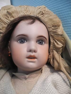 Présentation de mes poupées