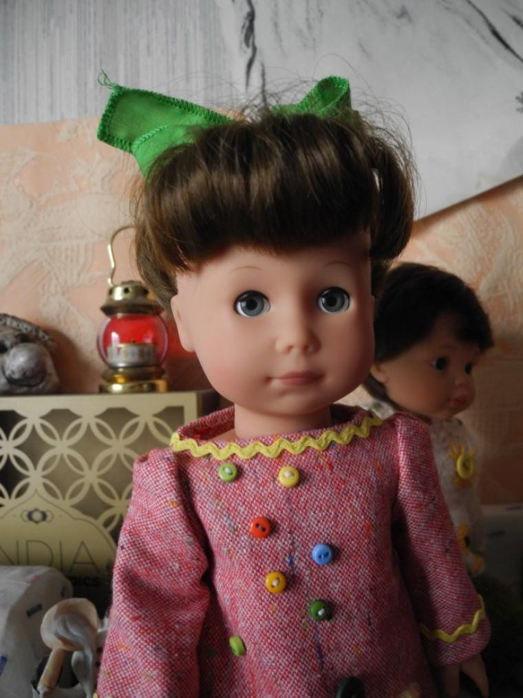 Présentation de mes poupées (suite 2)